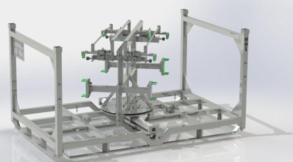 Stillage design   Rotating FEM stillage for Bentley Motors