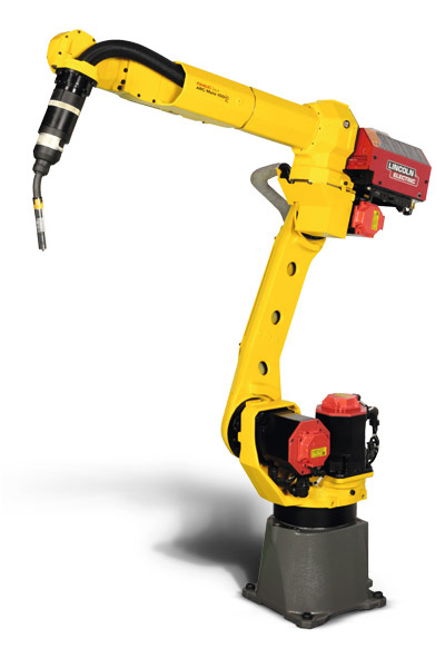 Unifabs robotic welder improves quality and repeatability of welded products